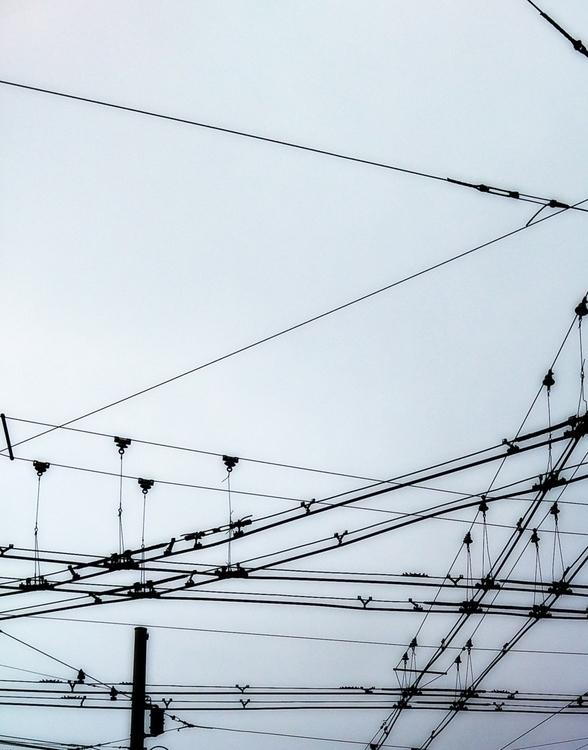 San Francisco sky - bw, monochrome - voiceofsf | ello