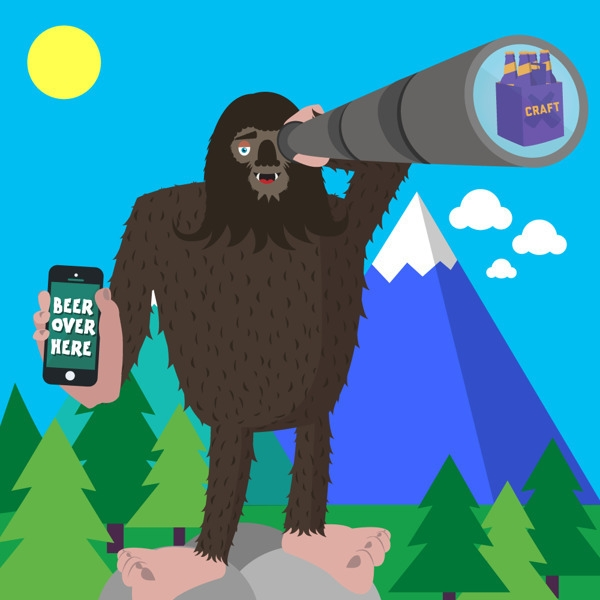 Beer - bigfoot, monocular, sasquach - georgemussel | ello