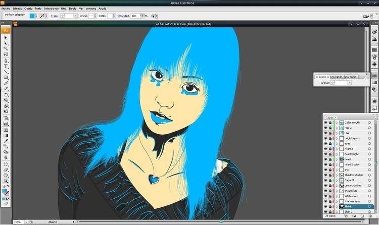 WIP ready - illustration, art, drawing - atsukosan-3588 | ello