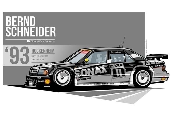 Bernd Schneider - 1993 Hockenhe - evandeciren | ello
