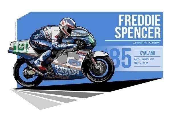 Freddie Spencer - 1985 Kyalami - evandeciren | ello