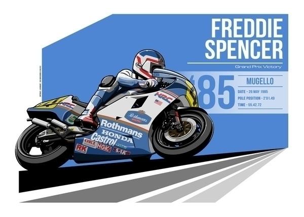Freddie Spencer - 1985 Mugello - evandeciren | ello