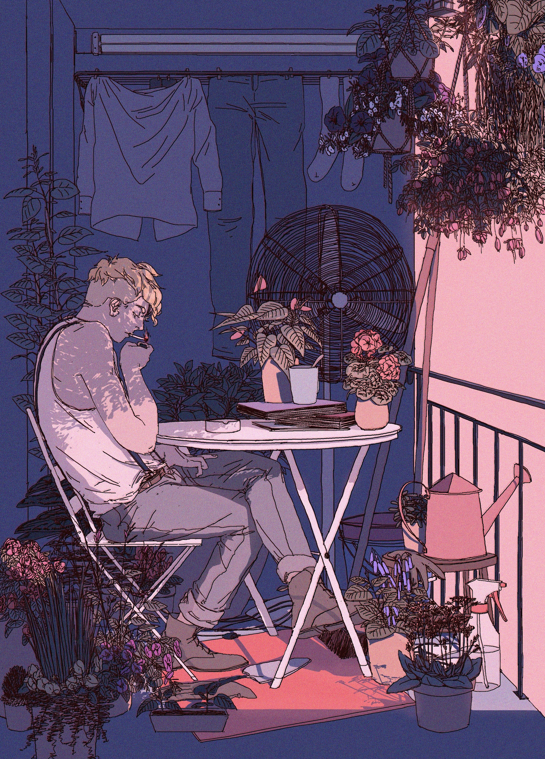 illustration - annaxiin   ello