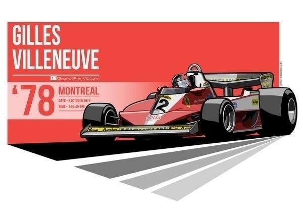 Gilles Villeneuve - 1978 Montre - evandeciren | ello