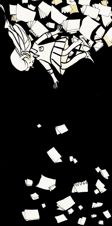 falling - sketchbook - llyvn | ello