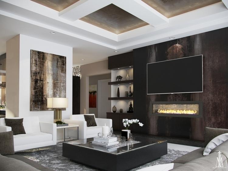 Living room design - arqmarenco   ello