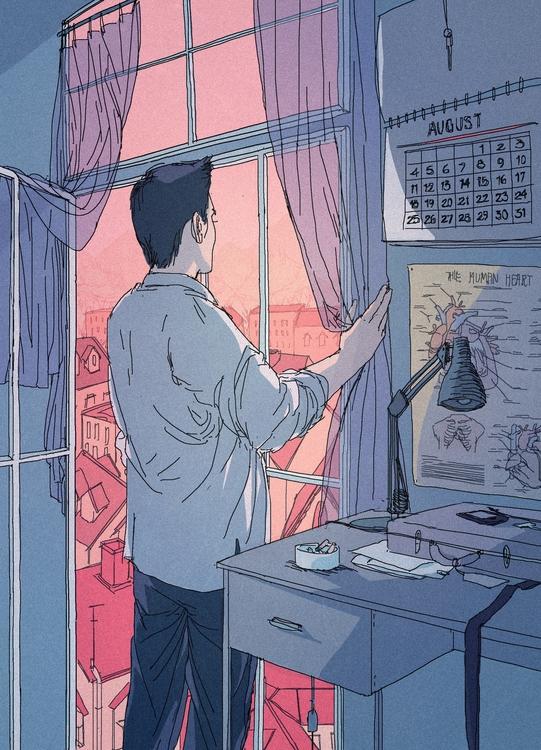 illustration - annaxiin | ello