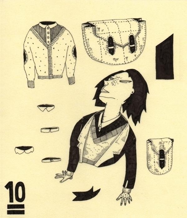 10 - illustration, drawing, rapidograph - marinamilanovic-2473 | ello