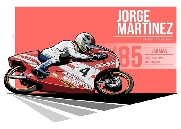 Jorge Martinez - 1985 Jarama - illustration - evandeciren | ello