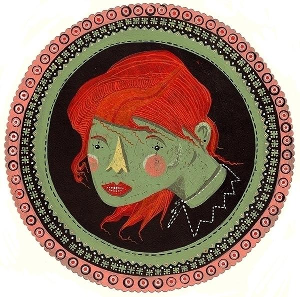 Queen Swamp - illustration - marinamilanovic-2473 | ello