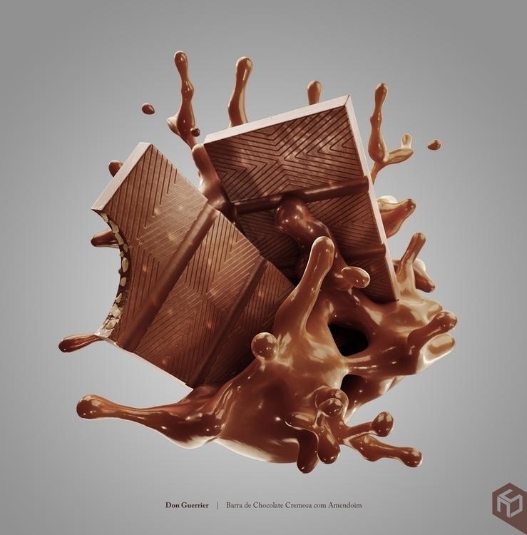 Amend chocolate bars. work Don  - antoniosouza3d | ello