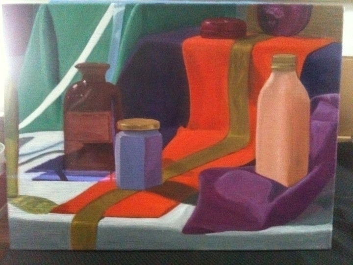 oilpainting, illustration, stilllife - roxanneeee | ello