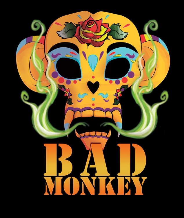 Bad Monkey Vapes Sticker Design - neuchele | ello