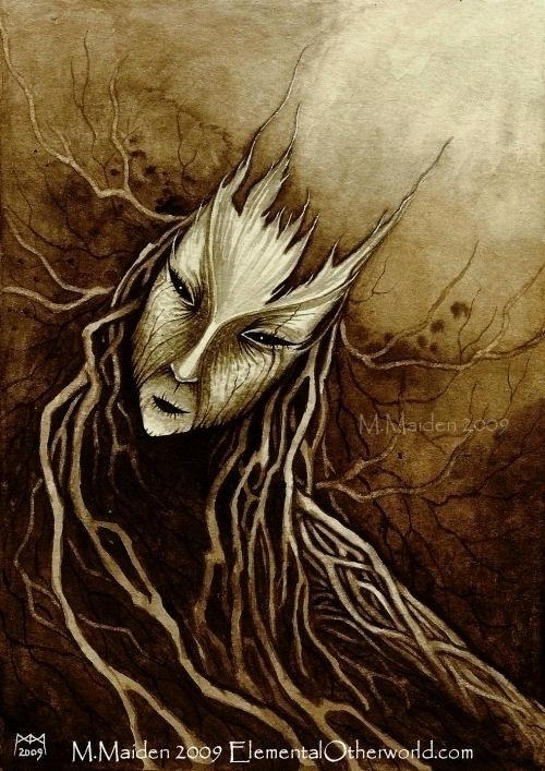 Creature bark roots, 2009, 6in  - mmaiden | ello