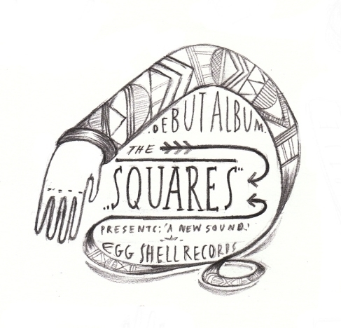 Squares - albumcover, sketch, roughsketch - jopole | ello