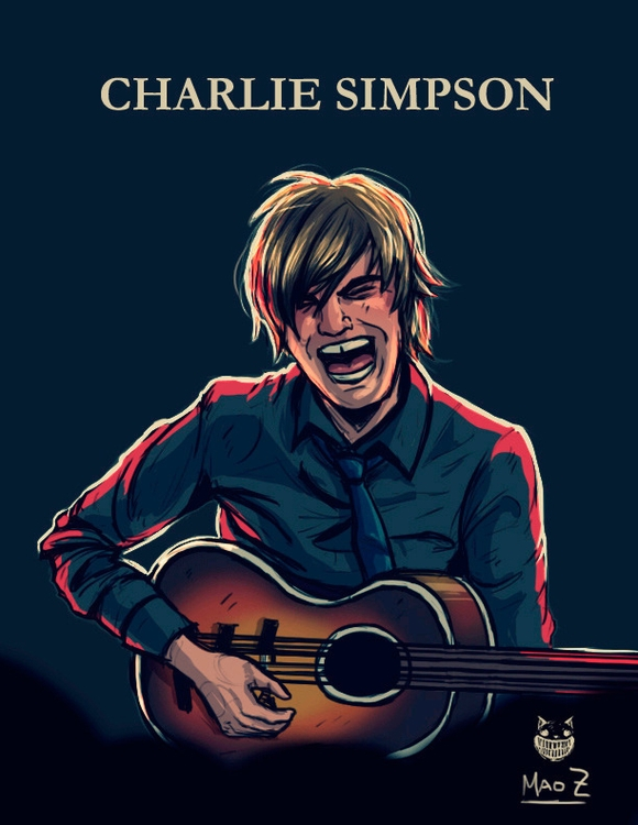 Charlie Simpson - illustration, drawing - maodraws | ello