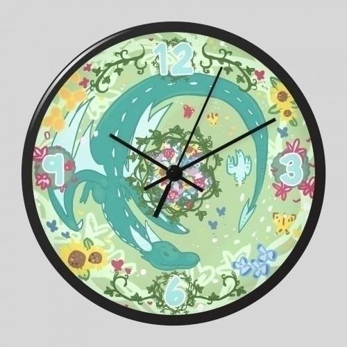 Dragon clock design. win contes - neuchele | ello
