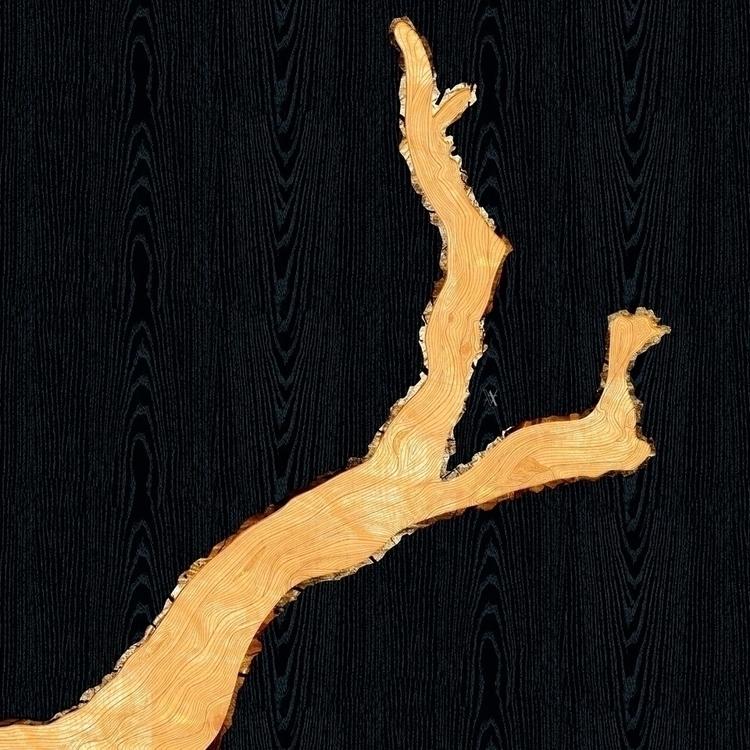 Branch - illustration, digitalart - akumimpi | ello