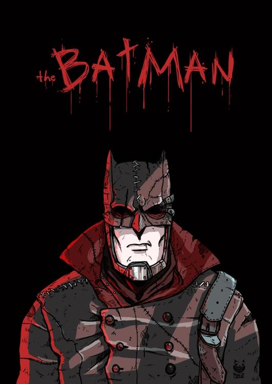 Batman: Noir - illustration, characterdesign - maodraws | ello