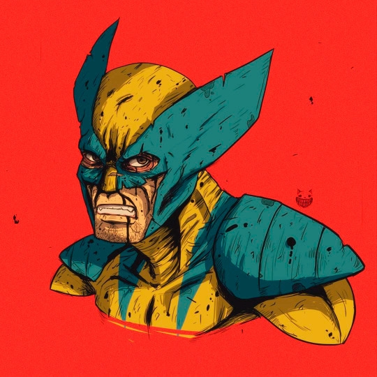 Wolverine - illustration, drawing - maodraws | ello