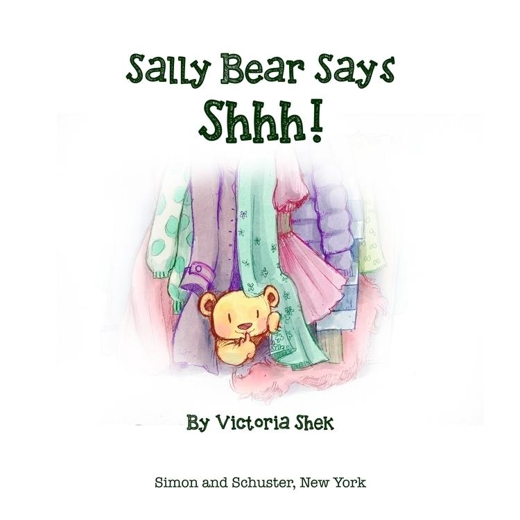 Sally Bear Shhh! title page moc - vshek   ello