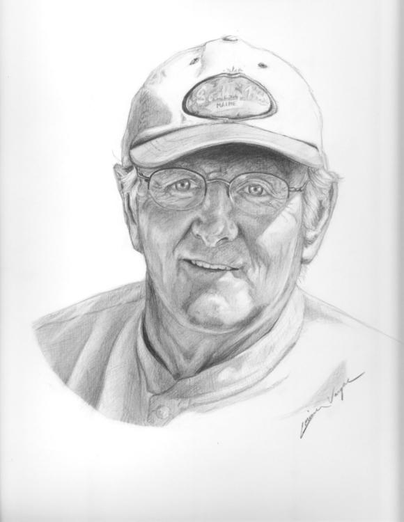 portrait, drawing, pencil, graphite - corinnavargas | ello