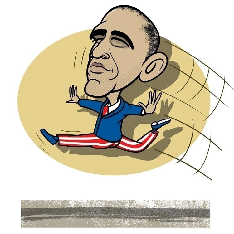 Barack Obama Washington Post - BarackObama - drawgood | ello