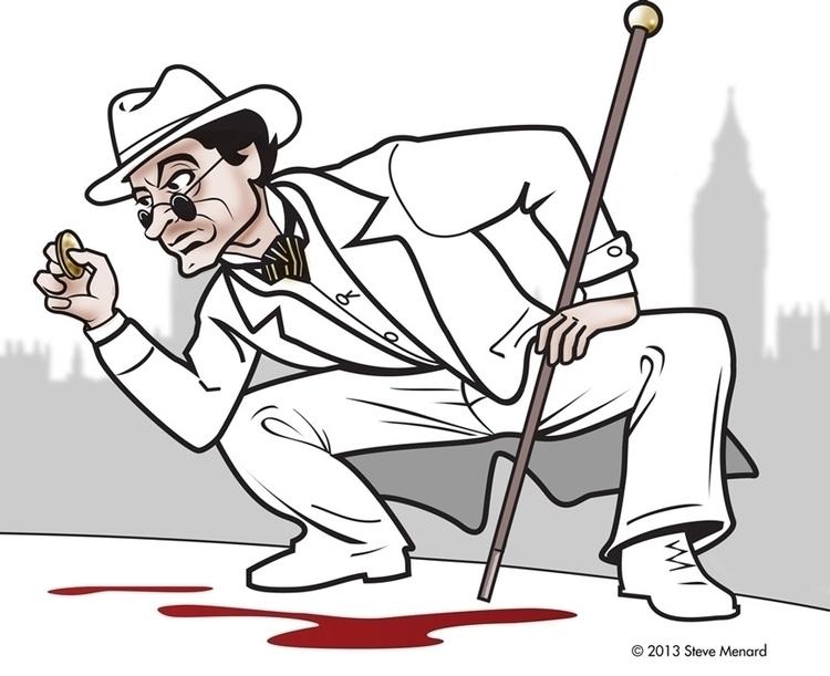 Sherlock Holmes hot trail - characterdesign - stevemenard | ello