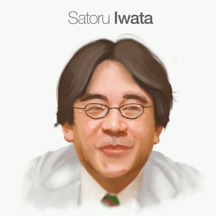 Satoru Iwata, glorious work liv - doodles-4576 | ello