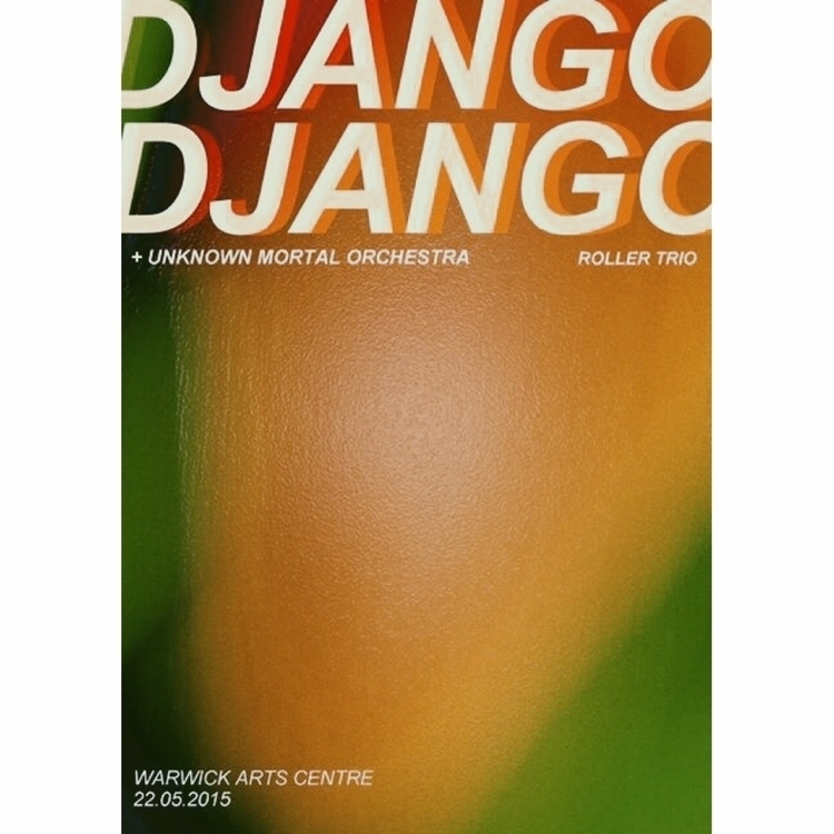 Poster Django Warwick Arts Cent - laurencejeph | ello
