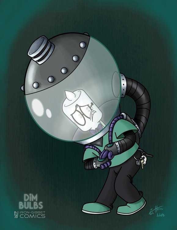 illustration Dawn, main charact - heiserz | ello
