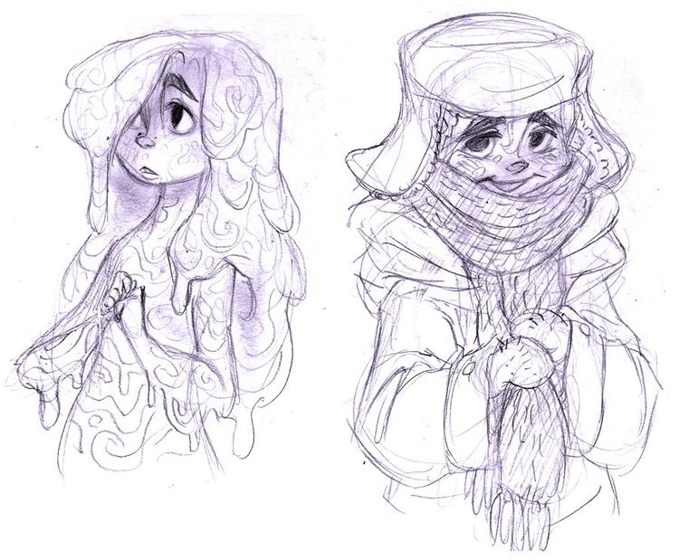 girl, slimegirl, characterdesign - awamboldt | ello