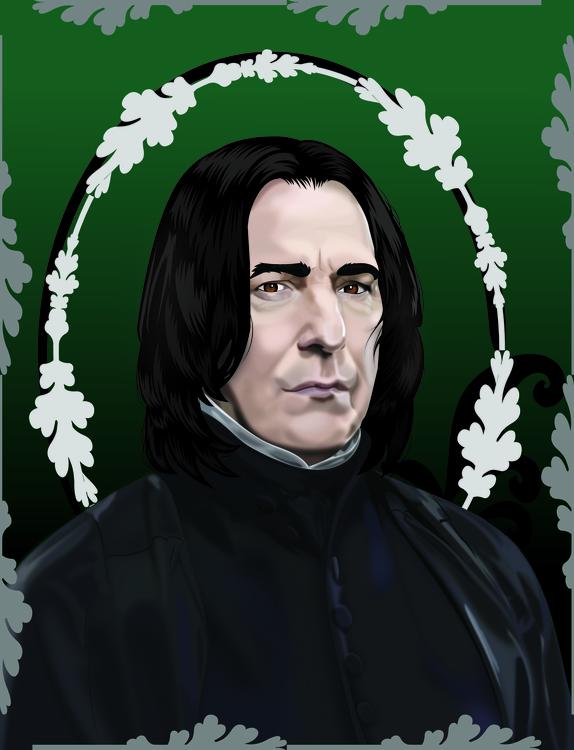 Professor Severus Snape portrai - hope30789 | ello
