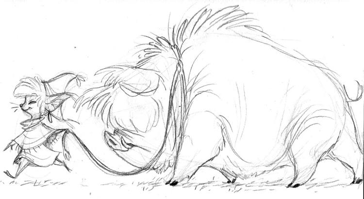 hog, animals, creature, characterdesign - awamboldt | ello