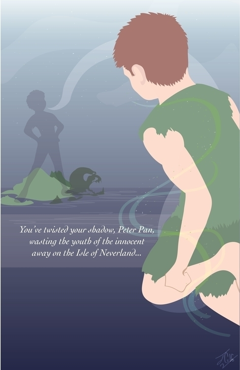 Peter Pan Poster--illustrated a - jessieg-1223 | ello