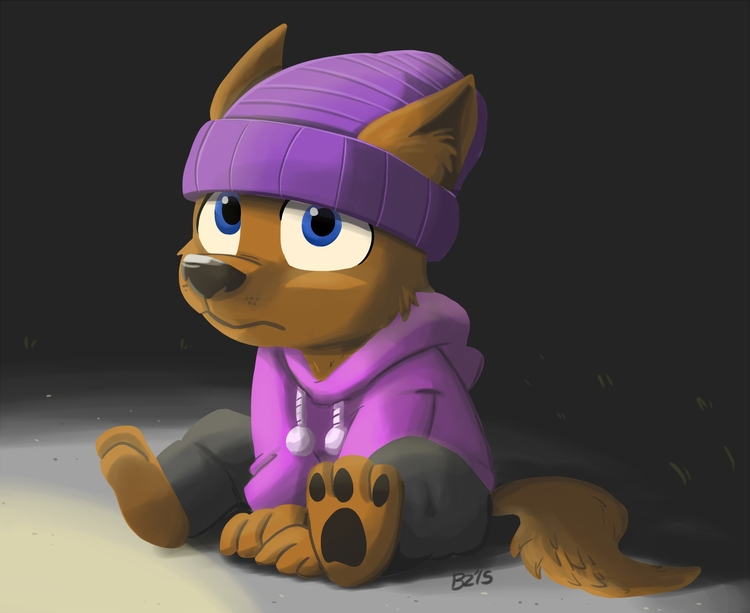 Werewolves pups - illustration, cartoon - zalarstudios | ello
