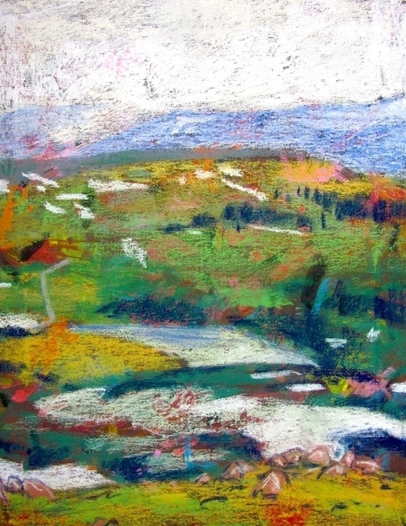 Yellowstone 004 - drawing, yellowstone - kennethshearer-1623 | ello