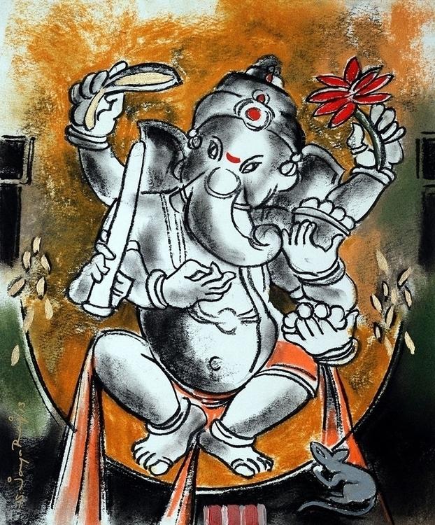 painting, art, indianart, jayaraj - sjayaraj999 | ello