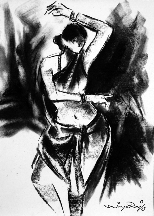 Ruralfolk - painting, drawing, charcoaldrawing - sjayaraj999 | ello