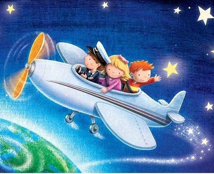 Netjets 1 - fly#plane#space#cute#children#stars#children'sbook - craigcameron | ello