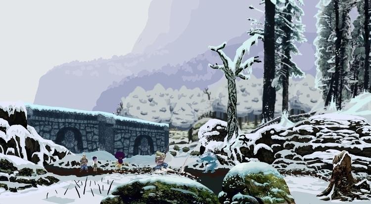 Forest Entrance - gameart, utopia - kennethshearer-1623 | ello