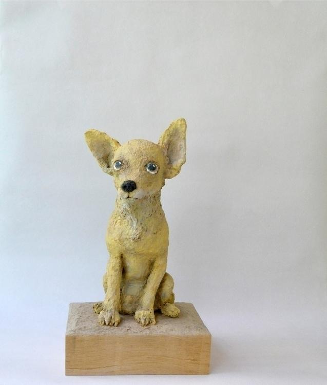 CHIHUAHUA - 3dart, sculpture, dog - barakesculptor | ello