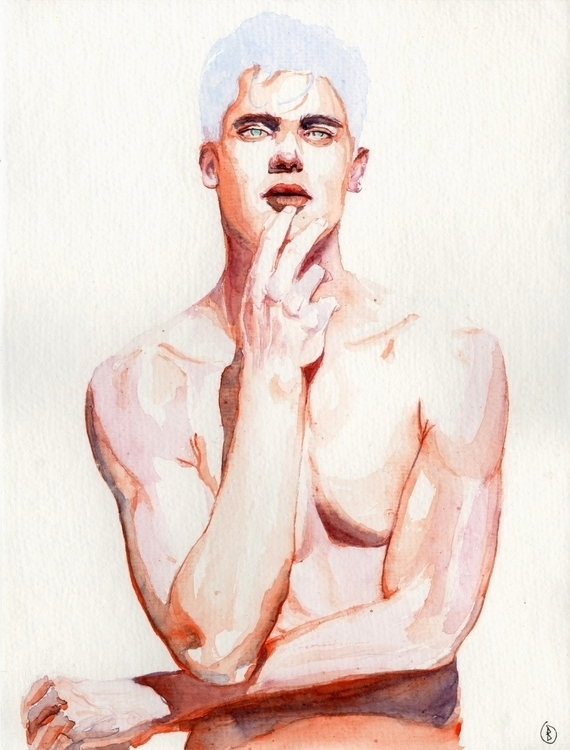 Ponder. Watercolour watercolour - narum | ello