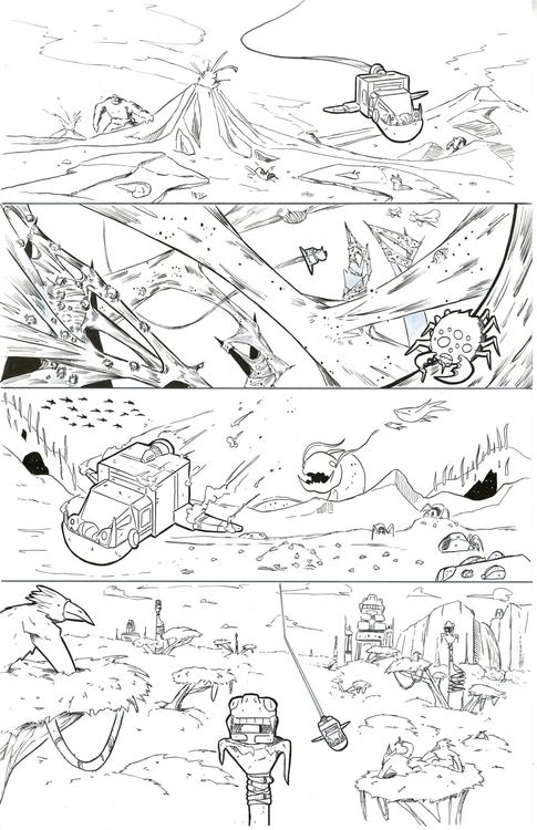 30 Parsecs page 14 - comics - kylebrightbill | ello