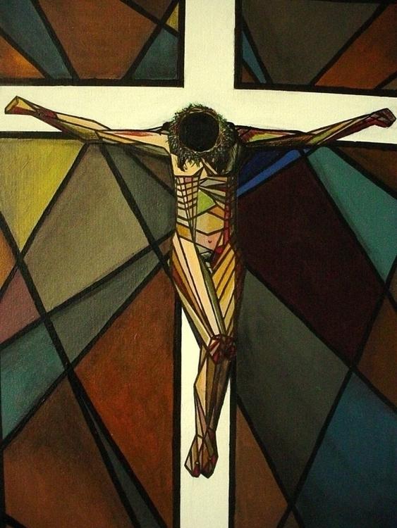 Christ geometrized (Cristo geom - acardigon | ello