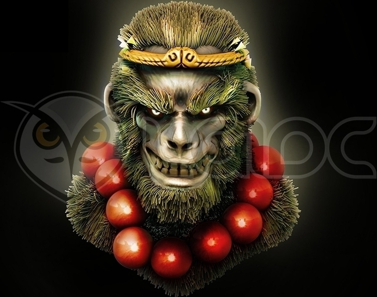 Sun Wukong Monkey King - illustration - lgidc | ello