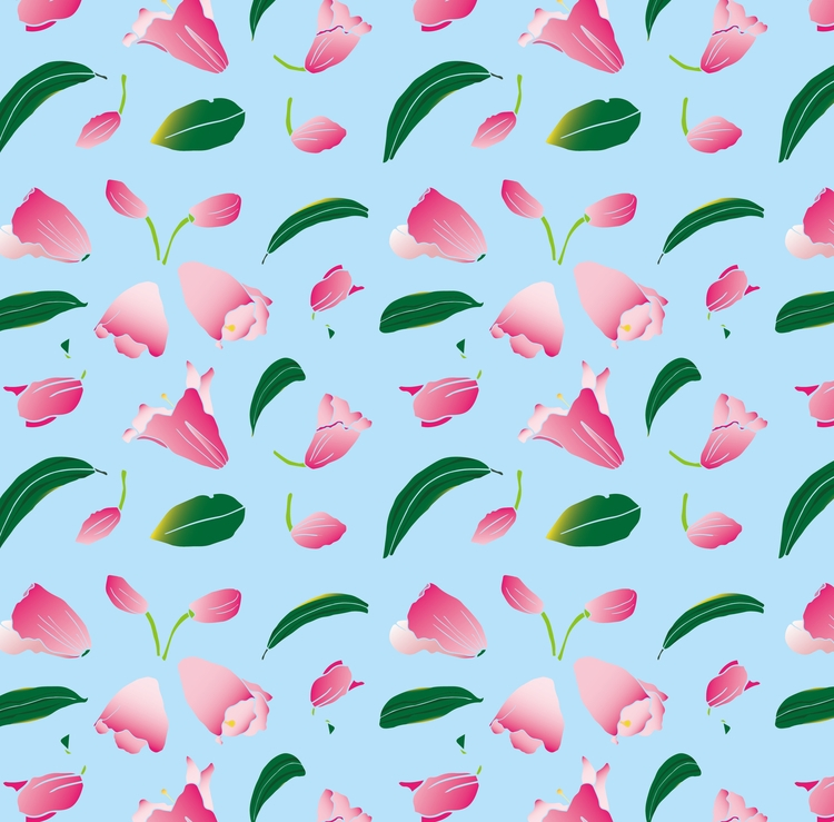 rhododendron - illustration#digitalart#design#characterdesign#photoshop#painting#davisvrworks#drawing#conceptart - moonlighttwosu | ello