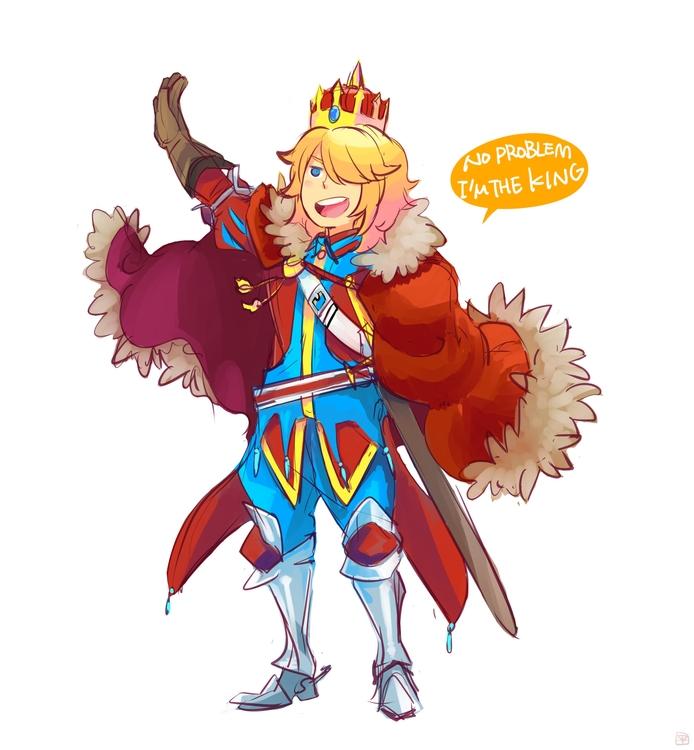 naughty King - illustration, fantasyart - mizuno-3224 | ello