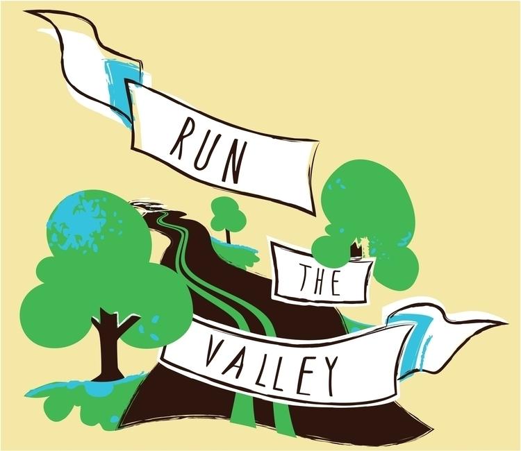 Final design, Run Valley - illustration - mohuneycutt | ello