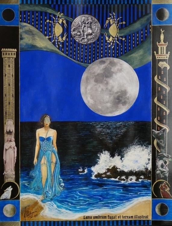 Moon Lua) Luna umbram fugat ter - acardigon | ello